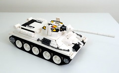 T34-85 disassembly (LegoMarat) Tags: lego legotechnic sbrick