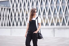 Monochrome-outfit-minimalist-bucket-bag-fashion-blogger (www.shoutouttoyou.com) Tags: summer white inspiration black monochrome look sunglasses fashion bag bucket outfit clothing shoes boots style tshirt minimal wear clothes simplicity how dungarees ankle simple tee minimalistic cos minimalist basic combination streetwear streetfashion garment zign streetstyle dungaree streetlook howtowear everydaycounts