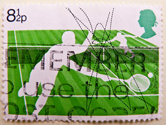 great stamp Great Britain 8 1/2p Tennis Wimbledon (, tenis, tenisz, , , ) timbre UK United Kingdom stamps England selo sello stamps GB stamp Great Britain GB England UK   pullar ngiltere frimrken Storbritannien  (thx for sending stamps :) stampolina) Tags: uk greatbritain england green postes unitedkingdom tennis tenis gb grn wimbledon tem commonwealth postzegel selo bolli sello sellos briefmarken  frimrken verts  francobollo selos timbres frimrker   francobolli bollo  zegels  zegel znaczki teniss markica    tenisz perangko frimerker pullar timbru  tenisas grosbritannien      blyegek  antspaudai raztka
