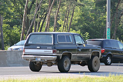 Chevrolet K5 Blazer (SPV Automotive) Tags: black classic chevrolet car truck suv blazer k5