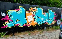 Graffiti Skatezone (oerendhard1) Tags: urban streetart art graffiti rotterdam capelle casm skatezone