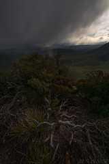 Snow flurries over megalong valley (benpearse) Tags: wedding snow cold weather landscape photography moody ben windy snap commercial valley megalong pearse