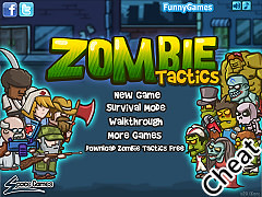 殭屍大作戰:修改版(Zombie Tactics Cheat)