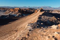 Sunset over Valle de la Luna (tik_tok) Tags: chile latinamerica southamerica nature landscape outdoors cycling nationalpark desert dry atacama valledelaluna desierto arid sanpedro puna highaltitude valleyofthemoon naturesanctuary reservanacionallosflamencos