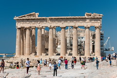 The Parthenon (Erika & Rdiger) Tags: temple europe athens parthenon greece ancientgreece classicalantiquity acropolisofathens