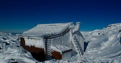Room with a view (Rich Morrison) Tags: park snow ice ben australia hut national tasmania lomond launceston