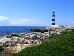 Day 222 The Lighthouse (Clare Pickett) Tags: sea lighthouse spain menorca