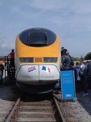 Eurostar 3313 NRM Railfest 040604-003 (UK Rail Pics) Tags: eurostar nrm nationalrailwaymuseum 3313 yorkworks yorkrailfest2004
