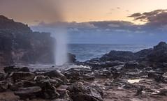 Nakalele Blowhole (brianconnollyphoto) Tags: 2016 hawaii maui nakaleleblowhole nakalelepoint fall sunrise