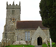 All Saints Church (Colorado Sands) Tags: church religious christian christianity sandraleidholdt godshill godshillchurch isleofwight uk gb unitedkingdom greatbritain tower historic architecture allsaints stonework building parishchurch churchofengland bellturret
