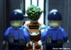 The Joker Arrives At Arkham (WattyBricks) Tags: the lego batman movie collectible minifigures arkham asylum joker prison gotham 71017