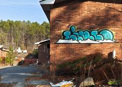 DSC_1597 (rob dunalewicz) Tags: 2017 atlanta abandoned urbex graffiti tags cinco lsd aub