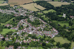 Aerial view of Castle Hedingham in Essex (John D F) Tags: castlehedingham essex aerial aerialphotography aerialimage aerialphotograph aerialimagesuk aerialview droneview viewfromplane britainfromabove britainfromtheair hirez hires highresolution