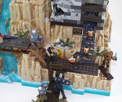Hope is lost.... (Nilbog Bricks) Tags: halo mega construx bloks moc minifigures minifig custom battlescape covenant unsc wars war battle alien
