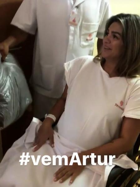 Cantora Kelly Key dá à luz Artur, seu terceiro filho
