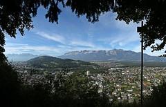 gerahmter Durchblick (Norbert Kaiser) Tags: aussicht rheintal ardetzenberg feldkirch alpstein hoherkasten alpen