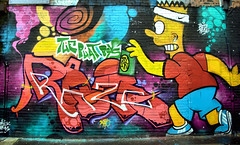 Bart Art (ihughes22) Tags: simpsons bartsimpson doh graffeti spray liverpoolecho liverpool razo thephatboys ihughes22 nikon