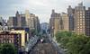 Departing Gotham (Joe Geronimo) Tags: manhattan newyork city gotham metronorth newhaven amtrak railroad kodak ektachrome kodachrome film photography photograph timessquare parkavenue travel adventure