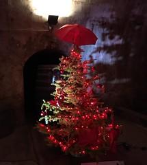 Regenschirm (Hettert) Tags: brückenkeller moselweinnachtsmarkt christbaumschmuck weihnachtsbaum weihnachten regenschirm christbaum