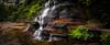(C) 2016 Gerard Blacklock, all rights reserved (Gerard Blacklock) Tags: bluemountains gerardblacklockgerry katoombafalls waterfall