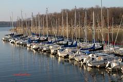 Winter Harbor (Rdoke) Tags: sail boat sailboat oolagah oklahoma lake