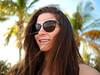 Self Portrait (katcheika) Tags: selfportrait woman girl nature beauty beach sun sunglass palmtree portrait selfie smiling green penf olympus lumix smith optics