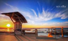 Let your Light Shine (Beth Wode Photography) Tags: sunset dusk sundown clouds wispyclouds cirrusclouds lowtide wellingtonpoint kingisland bluesky shadows beth wode bethwode