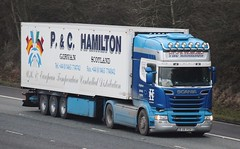 S8PCH  P&C Hamilton, Girvan (highlandreiver) Tags: s8pch s8 pch pc hamilton girvan ayrshire scotland scania truck lorry wagon haulage transport m6 wreay carlisle cumbria