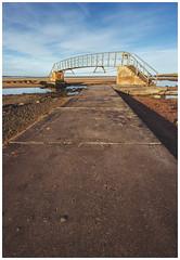 Bridge to Nowhere, Dunbar (Gordon_Farquhar) Tags: dunbar west barns beach lothian ness lighthouse torness power station scotland scottish east coast