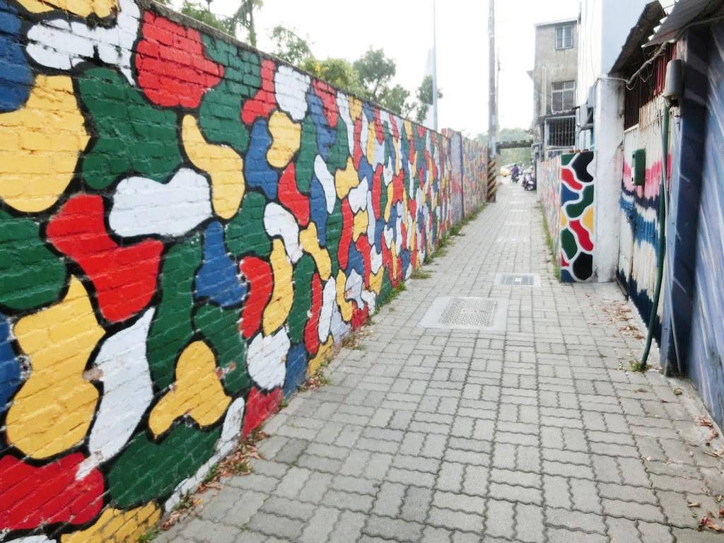 【台南】永康復興老兵文化園區,寧靜又美麗的彩繪村