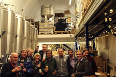 After the CAMRA branch committee meeting - held in a brewery (selcamra) Tags: camra selcamra beer realale pubs london anspachhobday londonbrewery southlondon inabrewery anspachandhobday