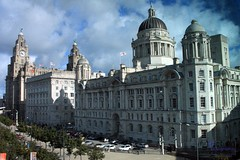 Three Graces (innpictime ζ♠♠ρﭐḉ†ﭐᶬ₹ Ȝ͏۞°ʖ) Tags: clock architecture dome waterfront towers liverpool pierhead museumofliverpool portofliverpoolbuilding royalliverbuilding liverbirds merseyside flags threegraces stgeorge 534034842995566 cunardbuilding walteraubreythomas willinckthicknesse arthurjdavis briggswolstenholme hobbsthornely twentiethcentury icons