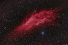 The California Nebula (NGC 1499) (AstroSocSA) Tags: nebula emission supernovaremnant dark sagittarius