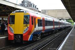 458006 - Woking (AJHigham) Tags: west london station turn photo woking south trains class waterloo stop emu around railtour juniper poole swt 458 4580 458006