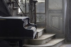 Performance (andre govia.) Tags: urban abandoned dead demo key photos decay ghost performance piano spooky staircase urbanexploration ghosts mansion dust manor derelict decayed decaying ue urbex decayedbuildings urbanexplorers rotton govia urbexdecay urbexabandoned andregovia