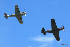 IMG_7815 (harrison-green) Tags: show sea museum plane flying war fighter aircraft aviation air airshow legends duxford imperial spitfire mustang fury iwm me109 2015