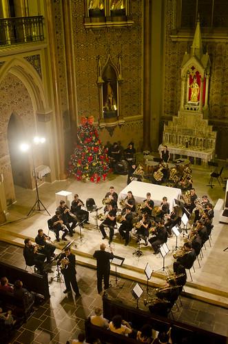 Brass Ensemble na Catedral de Curitiba