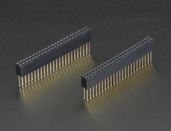 Stacking Header Set for Beagle Bone Capes (2x23) (adafruit) Tags: accessories headers 706 adafruit beaglebone