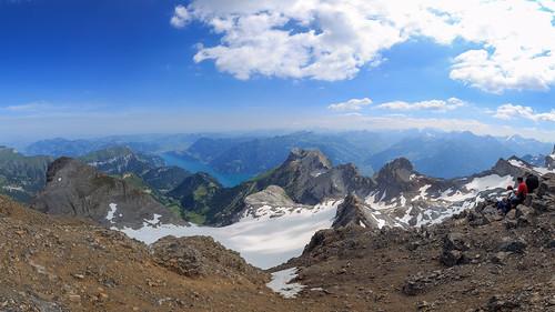 Uri Rotstock outlook towards Lake Lucerne