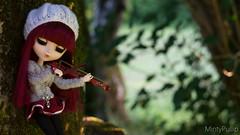 Sur un air de musique~ (MintyP.) Tags: 6 doll eyelashes sony wig groove pullip custo merl nex obitsu mintypullip elwyna