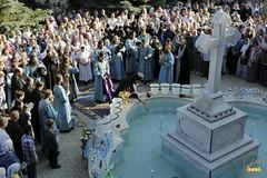 65. The blessing of water on the day of the Svyatogorsk icon of the Mother of God / Водосвятный молебен в день празднования Святогорской иконы Божией Матери