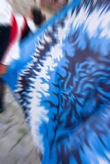 waving a flag (Simone.Com) Tags: blue summer blu flag wave medieval medievale bandiera storia sbandieratore rievocazioni sbandierare