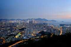 DSCF8923 (*WinG*) Tags: city sunset hk building home forest hongkong view hill fujifilm kowloon beaconhill 2015 xe1 畢架山 buildingforest fujinon1855f28 hongkongmemory