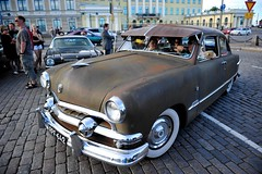 Ford Custom Sedan (Sameli) Tags: street ford car sedan suomi finland helsinki rusty custom 1951