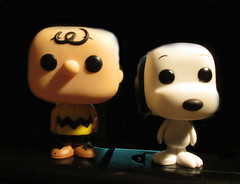 Charlie Brown and Snoopy POP Funko figures 9241 (Brechtbug) Tags: thanksgiving christmas new york old city nyc blue red dog pet brown news film beagle dogs halloween paper movie toy toys tv cool comic action good sunday peanuts funnies ole charles joe pop special charlie schultz strip snoopy animation characters universe figures funko 2015