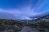 Hoyos del Espino. (Amparo Hervella) Tags: hoyosdelespino ávila españa spain paisaje montaña nube nieve camino noche nocturna largexposición d7000 nikon nikond7000 comunidadespañola wewanttobefree