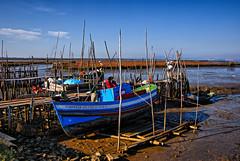 Low Tide (MrBlueSky*) Tags: portugal alentejo port landscape carrasqueira boats fishing water view outdoor pentax pentaxart pentaxlife pentaxawards pentaxk10d travel sadoestuary