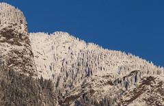 Sentinels (Mason Aldridge) Tags: winter snow mountain mountains peak landscape december beautiful pretty golden canada britishcolumbia fraservalley hope bc alpine canon 6d 80200 8020028 eos 70200 magicdrainpipe drainpipe