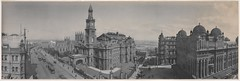 Panorama of Sydney Town Hall and Queen Victoria Building, 1904 / by Melvin Vaniman (State Library of New South Wales collection) Tags: statelibraryofnewsouthwales panorama