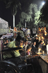 Chingari Trust Candlelight Vigil, 31st Anniversary Bhopal Disaster. Photos: Colin Toogood (Bhopal Medical Appeal) Tags: dow bhopal disaster dowchemical dupont microcephaly disabledchildren cerebralpalsy chemicalcontamination colintoogood chingaritrust protestrally candlelightvigil